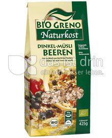 Produktabbildung: Bio Greno Naturkost Dinkel-Müsli Beeren 425 g