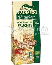 Produktabbildung: Bio Greno Naturkost Dinkel-Müsli Früchte 425 g