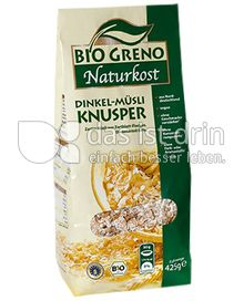 Produktabbildung: Bio Greno Naturkost Dinkel-Müsli Knusper 425 g
