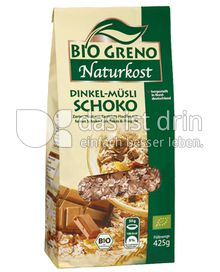 Produktabbildung: Bio Greno Naturkost Dinkel-Müsli Schoko 425 g