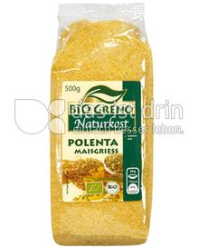 Produktabbildung: Bio Greno Naturkost Polenta Maisgriess 500 g