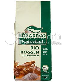 Produktabbildung: Bio Greno Naturkost Bio Roggen Vollkornmehl 1000 g