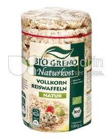 Produktabbildung: Bio Greno Naturkost Vollkorn Reiswaffeln Natur 100 g