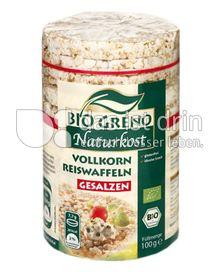 Produktabbildung: Bio Greno Naturkost Vollkorn Reiswaffeln Gesalzen 100 g