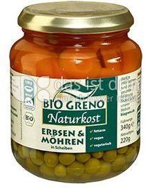 Produktabbildung: Bio Greno Naturkost Erbsen & Möhren 340 g