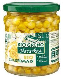 Produktabbildung: Bio Greno Naturkost Bio Zuckermais 340 g