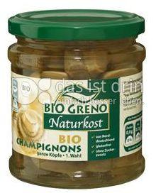 Produktabbildung: Bio Greno Naturkost Bio Champignons 330 g