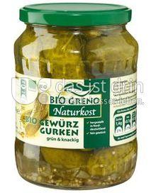 Produktabbildung: Bio Greno Naturkost Bio Gewürz Gurken 670 g