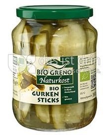 Produktabbildung: Bio Greno Naturkost Bio Gurken Sticks 720 ml