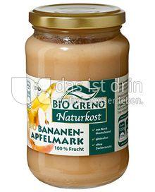 Produktabbildung: Bio Greno Naturkost Bio Bananen-Apfelmark 370 ml