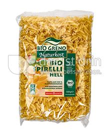 Produktabbildung: Bio Greno Naturkost Bio Spirelli Hell 500 g