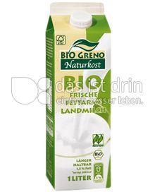 Produktabbildung: Bio Greno Naturkost Bio Frische Fettarme Landmilch 1 l