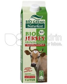 Produktabbildung: Bio Greno Naturkost Bio Jersey Frischmilch 1 l