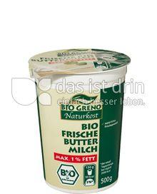 Produktabbildung: Bio Greno Naturkost Bio Frische Butter Milch 500 g