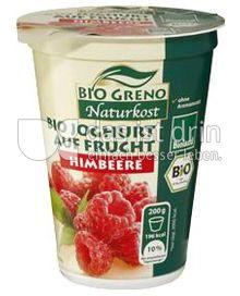 Produktabbildung: Bio Greno Naturkost Bio Joghurt auf Frucht Himbeere 200 g