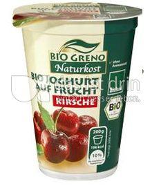 Produktabbildung: Bio Greno Naturkost Bio Joghurt auf Frucht Kirsche 200 g