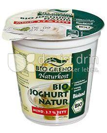 Produktabbildung: Bio Greno Naturkost Bio Joghurt Natur 150 g