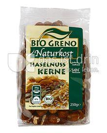 Produktabbildung: Bio Greno Naturkost Haselnuss Kerne 250 g