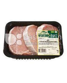 Produktabbildung: Bio Greno Naturkost Schweinelachssteaks 420 g
