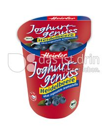 Produktabbildung: Heirler Joghurtgenuss Heidelbeere 400 g