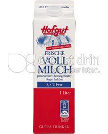 Produktabbildung: Hofgut Frische Vollmilch 1 l