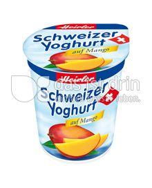 Produktabbildung: Heirler Schweizer Yoghurt auf Mango 150 g