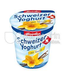 Produktabbildung: Heirler Schweizer Yoghurt mit Vanille 150 g