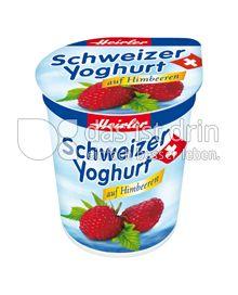 Produktabbildung: Heirler Schweizer Yoghurt auf Himbeeren 150 g