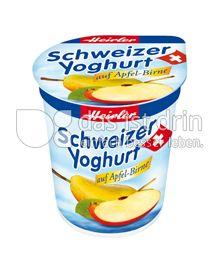 Produktabbildung: Heirler Schweizer Yoghurt auf Apfel-Birne 150 g