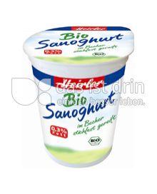 Produktabbildung: Heirler Bio Sanoghurt 150 g