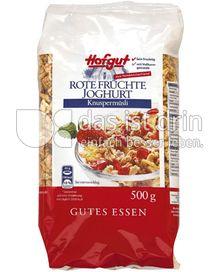 Produktabbildung: Hofgut Rote Früchte Joghurt 500 g
