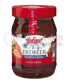 Produktabbildung: Hofgut Erdbeer Konfitüre Extra 340 g