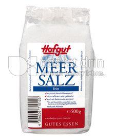 Produktabbildung: Hofgut Meersalz 500 g