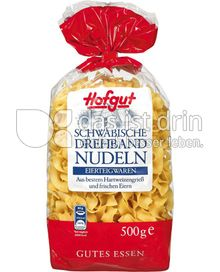 Produktabbildung: Hofgut Schwäbische Drehbandnudeln 500 g