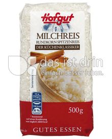 Produktabbildung: Hofgut Milchreis 500 g