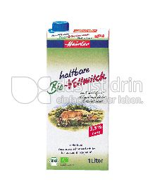 Produktabbildung: Heirler Haltbare Bio-Vollmilch 1 l