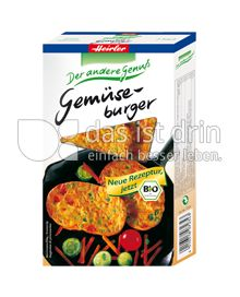 Produktabbildung: Heirler Gemüseburger 150 g