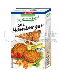 Produktabbildung: Heirler wie Hamburger 150 g