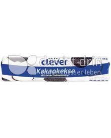 Produktabbildung: Clever Kakaokekse 176 g