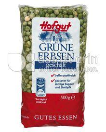 Produktabbildung: Hofgut Grüne Erbsen geschält 500 g