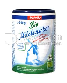 Produktabbildung: Heirler Bio Milchzucker 240 g