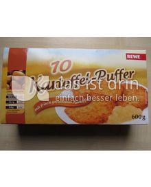 Produktabbildung: REWE 10 Kartoffel-Puffer 600 g