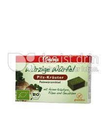 Produktabbildung: Heirler Würzige Würfel Pilz 8 St.