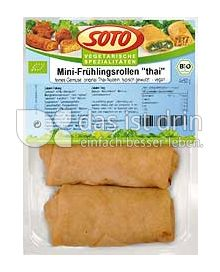"Produktabbildung: SOTO vegetarische Spezialitäten Mini-Frühlingsrollen ""thai"" 200 g"