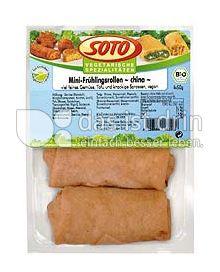 """Produktabbildung: SOTO vegetarische Spezialitäten Mini-Frühlingsrollen """"china"""" 200 g"""
