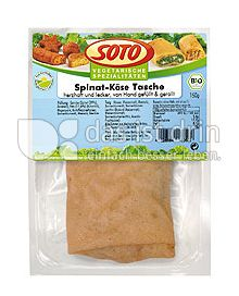 Produktabbildung: SOTO vegetarische Spezialitäten Spinat-Käse-Tasche 150 g