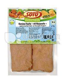 Produktabbildung: SOTO vegetarische Spezialitäten Gemüse-Tasche mit Mozzarella 220 g