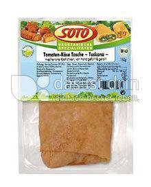 Produktabbildung: SOTO vegetarische Spezialitäten Tomaten-Käse-Tasche 150 g