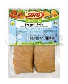Produktabbildung: SOTO vegetarische Spezialitäten Broccoli-Rolle 220 g