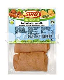 """Produktabbildung: SOTO vegetarische Spezialitäten Rollini """"Mozzarella"""" 150 g"""